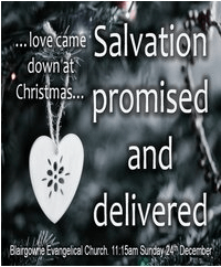 Salvation Promised and Delivered