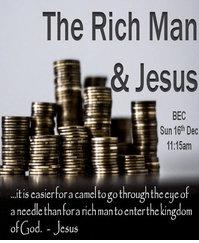 The Rich Man & Jesus